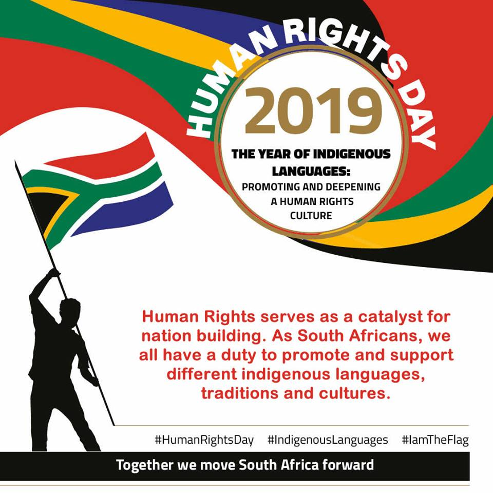 Human Rights Day Theme 21 March 2019