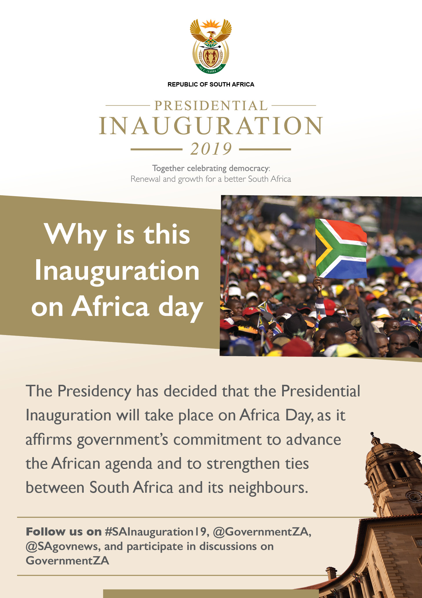 Inauguration 2019 Factsheet Posters Africa Day