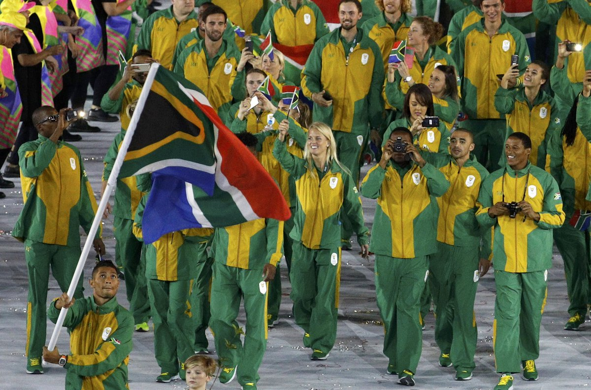 South-African-team-at-Olympics-2
